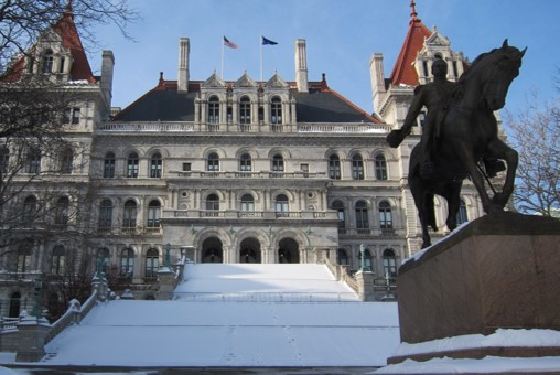 NY state building