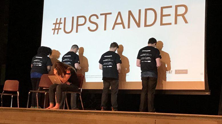 upstanders presenting